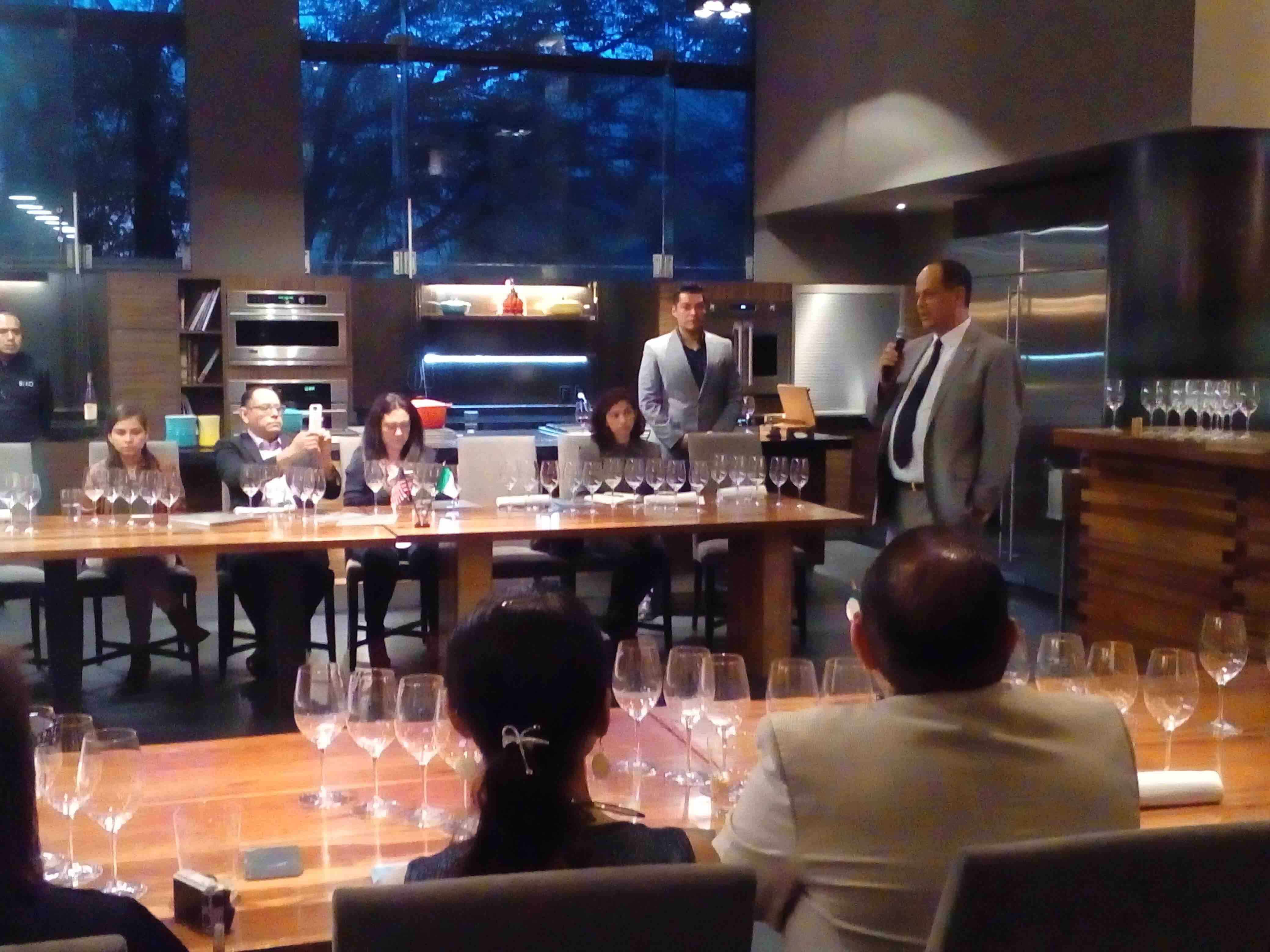 Northwest Wines, a Media Dinner in Mexico City